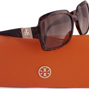 Tory Burch square sunglasses tortoise